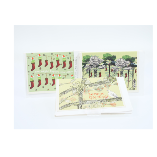 Judith Durnford Set of 8 Christmas Card pack