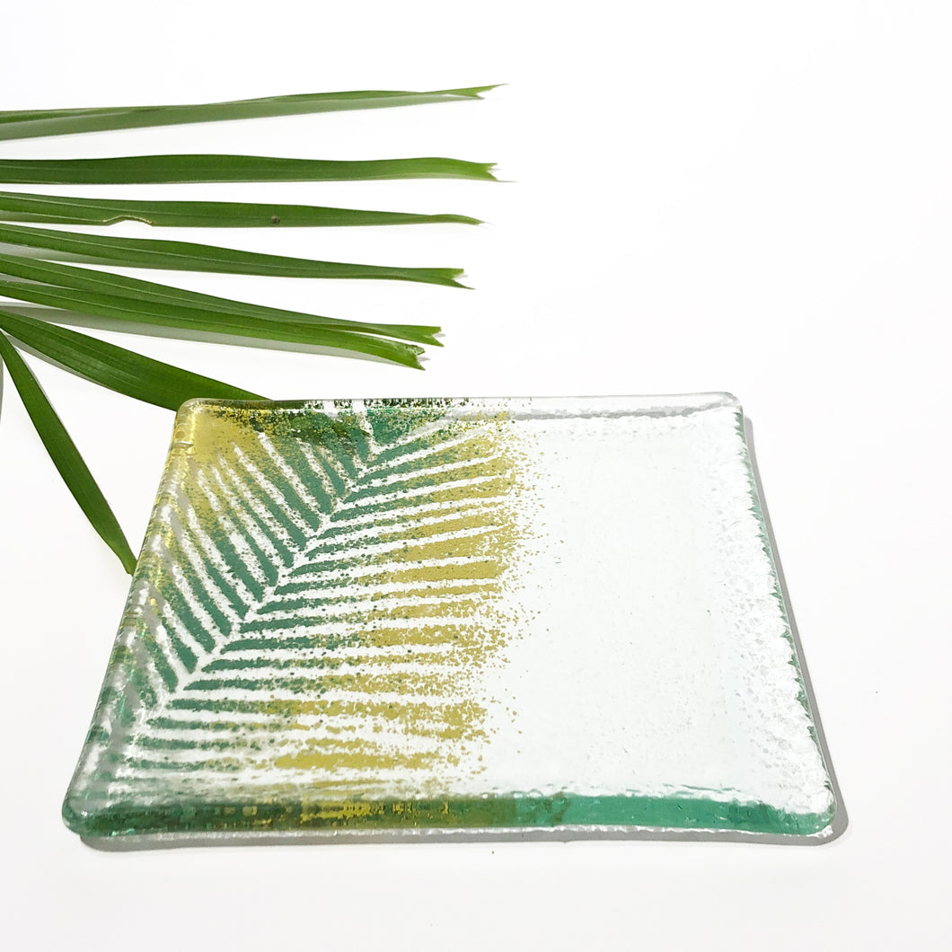 Meng Hoeschle Large Square Glass Dish
