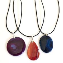 Load image into Gallery viewer, Frances Ricketts Gemstone Pendant Necklace