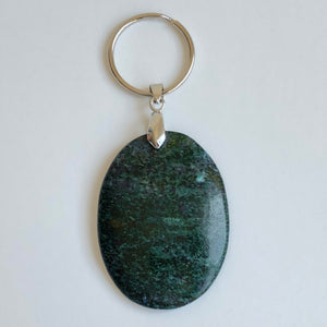 Frances Ricketts Polished Gemstone keyring