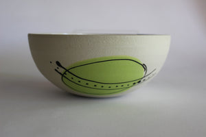 Annie Gastin Medium Porcelain Jetsons Bowl