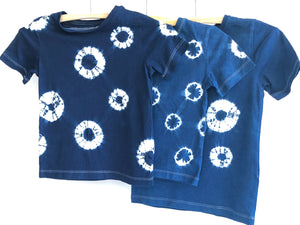 MPH Blueleaves Indigo Dyed Children's T-Shirt
