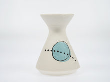 Load image into Gallery viewer, Annie Gastin Teal Jetson Vase