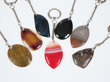 Load image into Gallery viewer, Frances Ricketts Polished Gemstone keyring