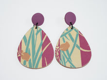 Load image into Gallery viewer, Made By Mariye Tear Drop Decoupaged Earrings