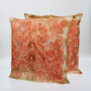 Glynis Lee Eco Dyed Silk Cushions
