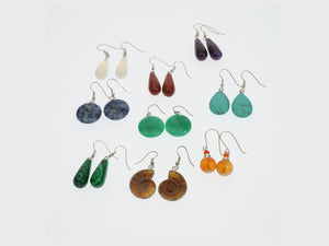 Frances Ricketts Polished Gemstone Earrings