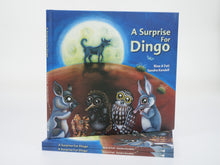 "Load image into Gallery viewer, Sandra Kendall ""A Surprise For Dingo"" Hardcover Book"