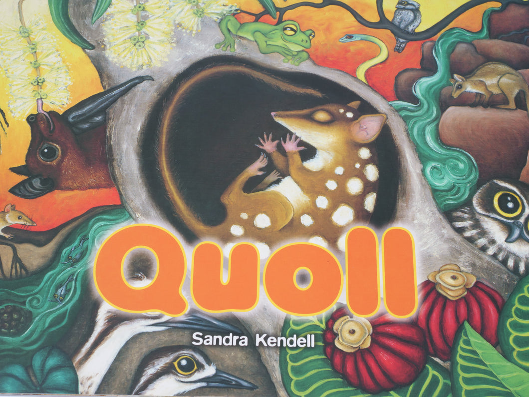 Sandra Kendall Quoll Paperback Book