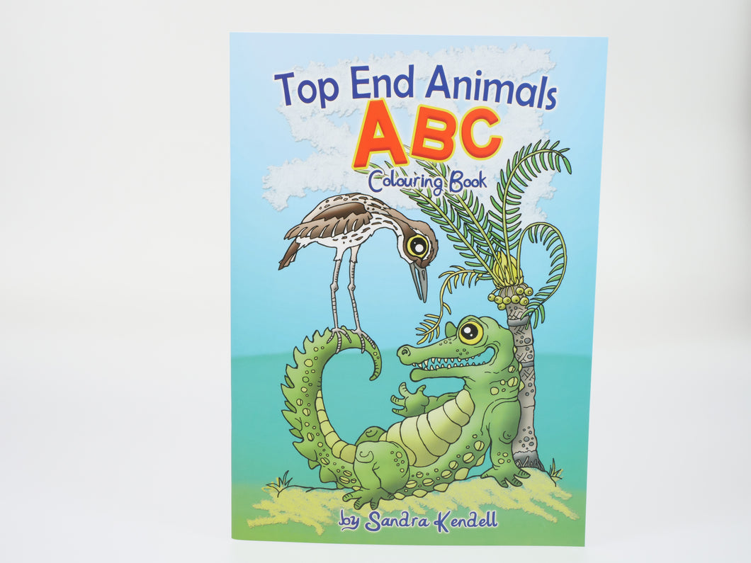 Sandra Kendall Top End Animals ABC Colouring Book