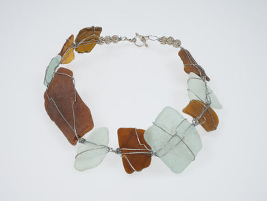 Penny Cello Recycled Glass Necklace