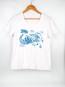 Janie Andrews Women's Mermaid Print T-Shirt