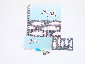 Judith Durnford Notebook with Matching Bookmark