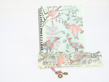 Load image into Gallery viewer, Judith Durnford Notebook with Matching Bookmark