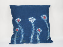 Load image into Gallery viewer, MPH Blueleaves Linen Cushion