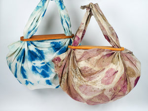 Glynis Lee Silk Boho Bag