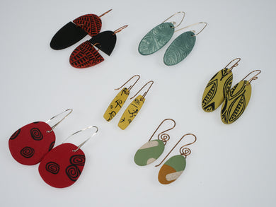 Cheryl Young Polymer Clay Earrings