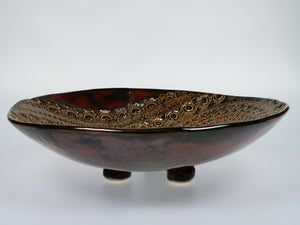 Virginia Boyanton Stoneware Fruit Bowl