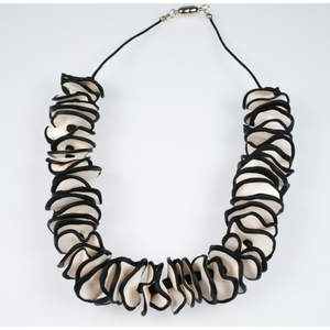 Cheryl Young Ruffle Necklace