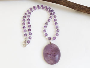 Frances Ricketts Amethyst Necklace