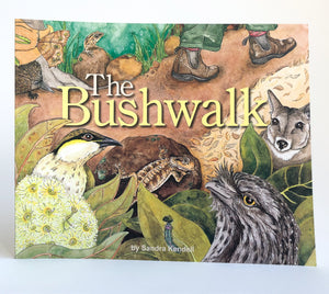 "Sandra Kendall ""The Bushwalk""Paperback Book"
