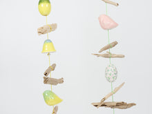 Load image into Gallery viewer, Dawn Beasley Driftwood and Porcelain Windchime