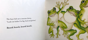 "Sandra Kendall Hardcover Book ""Green Tree Frogs"""