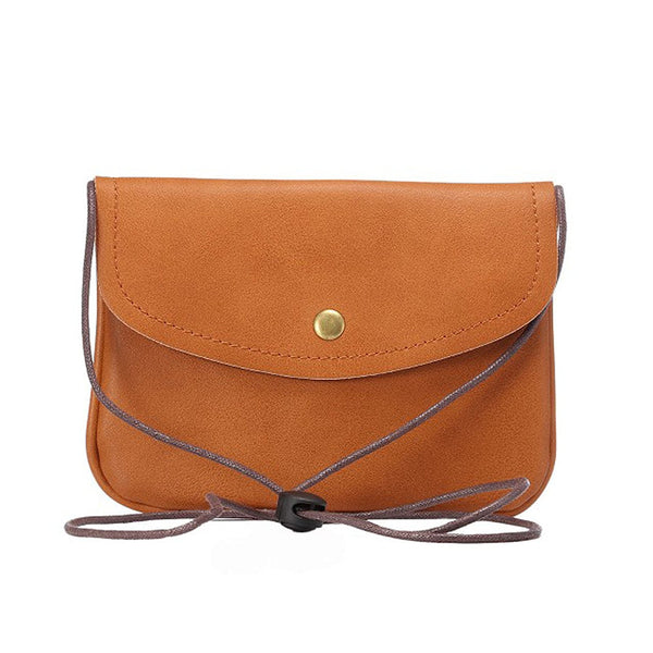 Multifunctional PU Leather Phone Bag Purse with Snap Bottom