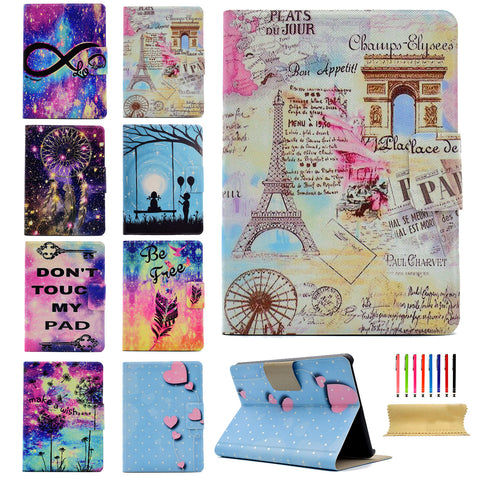 For Kindle Paperwhite Wallet Case, Smart PU Leather Folio Flip Stand Protective Cover