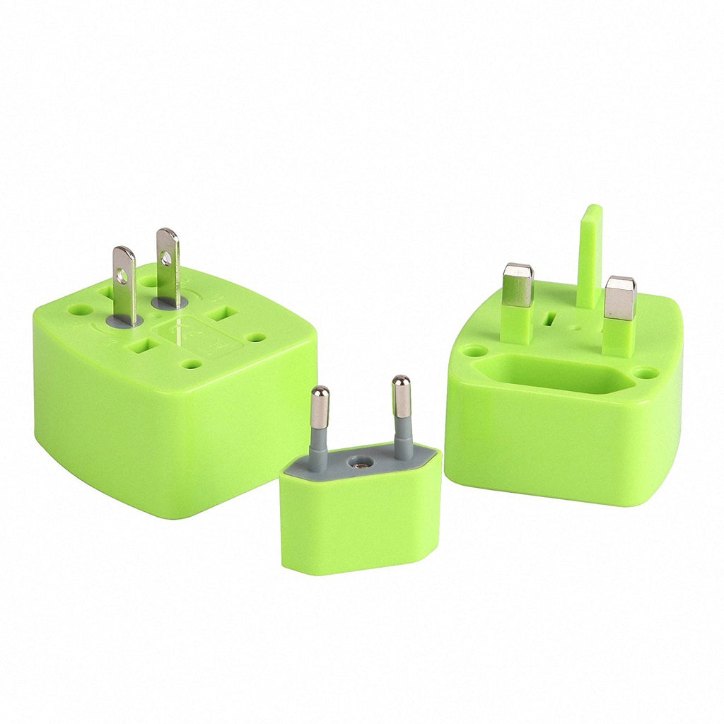 World Travel Adapter, Dteck Detachable Multi-functional Universal All in one Plug for UK US AU EU