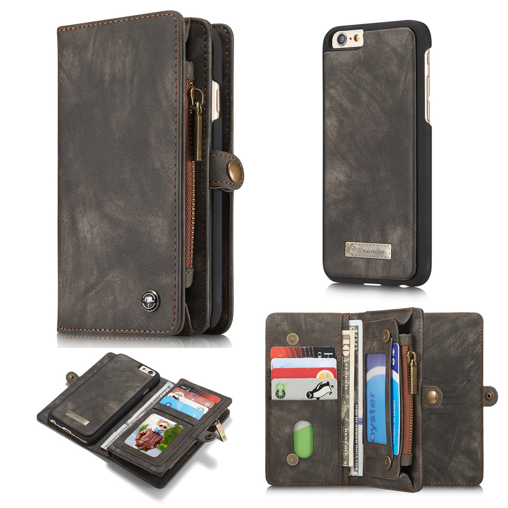 iPhone 7 Case, Dteck Leather Detachable Wallet Case for Apple iPhone 7