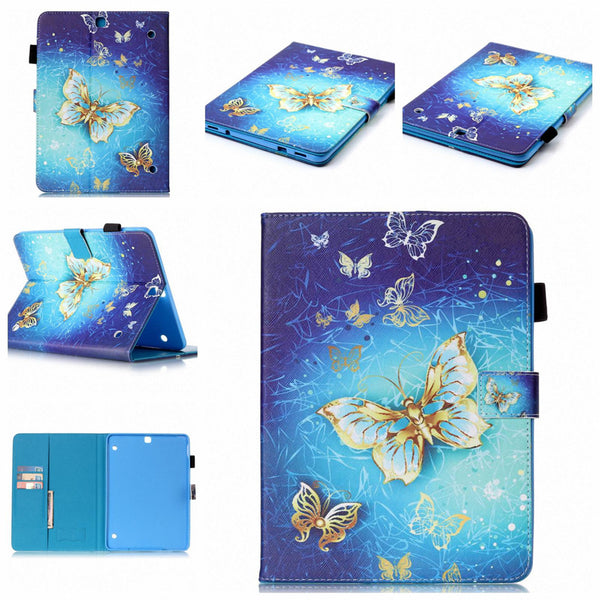 For Samsung Galaxy Tab S2 9.7inch SM-T810/T815 Case, Card Pocket Folio Stand Cover