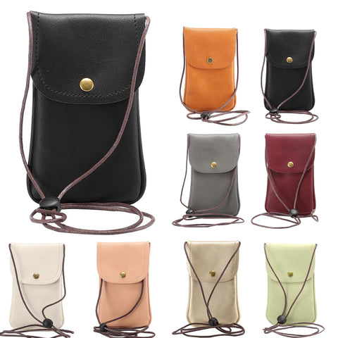 Universal Crossbody Phone Purse Case, Phone Bag with Long Shoulder Strap & Metel Buckle