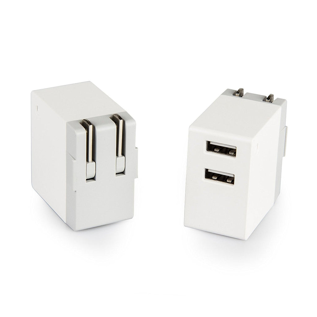 Wall Charger, Dteck 3.1A Dual Ports USB Rapid Wall Charger Power Adapter for iPhone SM LG and More
