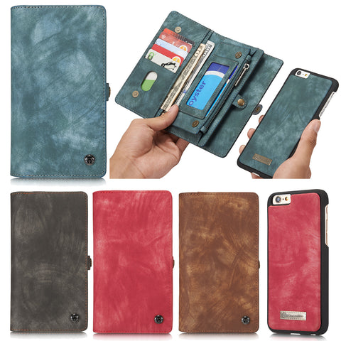 iPhone 6 Plus 6S Plus Case, Dteck Leather Detachable Wallet Case for Apple iPhone 6 Plus 6S Plus
