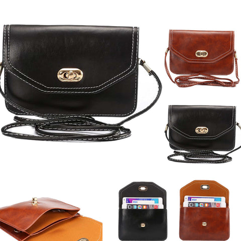 XL Size Universal Cross-Body Purse[Shoulder strap][3 pouches]