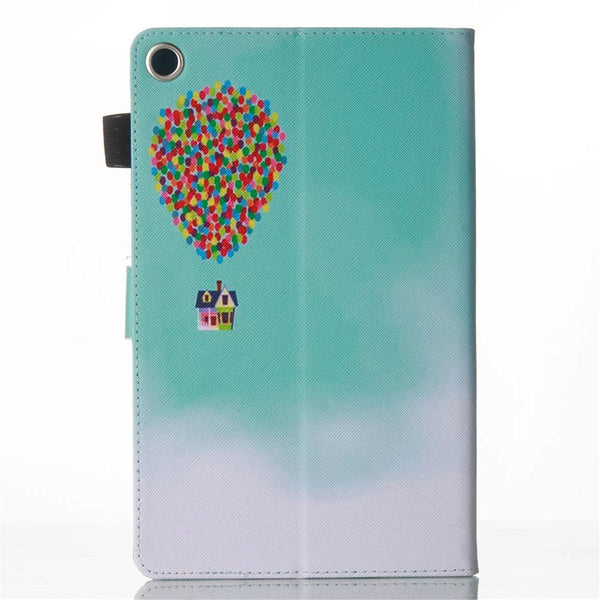 "For Fire 7"" Display 5th Generation Case , PU Leather Full Body Protective Stand Cover"