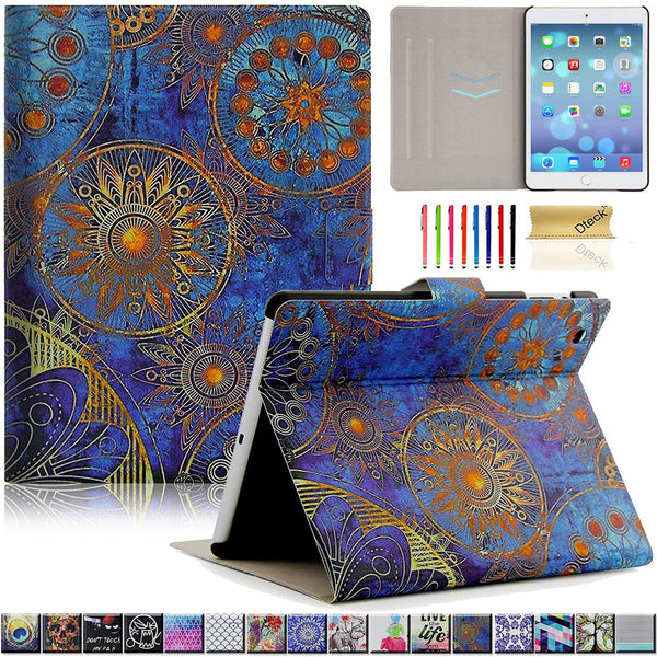 Slim Fit Gorgeous Flip Folio Stand Leather Magnetic Smart Cover For iPad Mini 3/2/1
