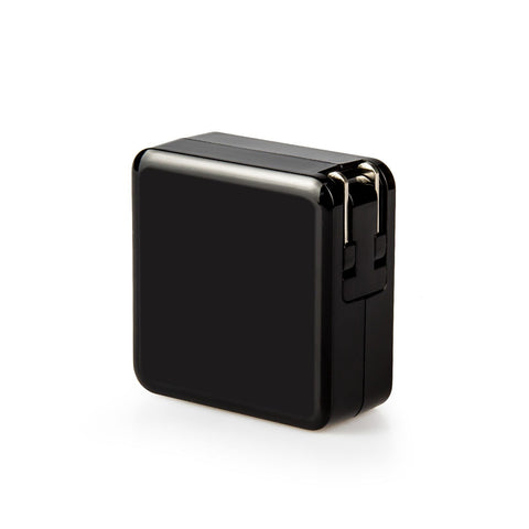 USB Wall Charger, Dteck Universal Portable 3-port Home Travel Wall Charger Adapter for All - Black