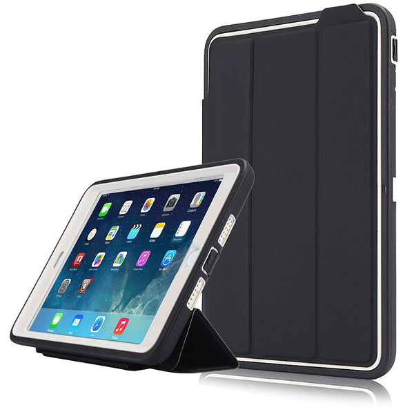 iPad Mini 4 Case,Dteck(TM) 3 In 1 Hybrid [Heavy Duty] Shockproof Pattern Flip Stand Cover [Auto Sleep/Wake] for Apple iPad Mini 4