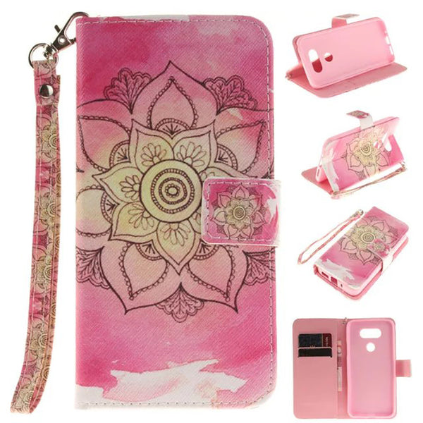 LG K7/ LG Tribute 5/ LG Treasure Case, Dteck(TM) PU Leather Full Body Protective Kickstand Cover