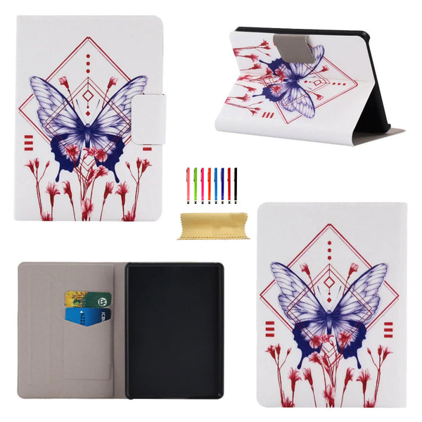 "For Fire HDX 7"" 3rd Generation Case, PU Leather Flip Stand Shell Cover"