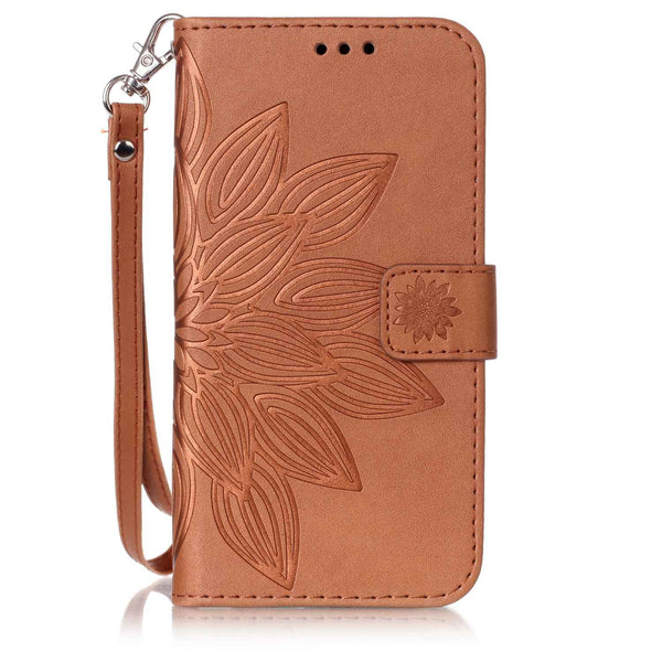 For LG Stylo 2/ K530/ MS550 Wallet Case, Dteck(TM) Double Layer Shock Absorbing Kickstand Cover