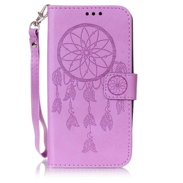 For LG G Stylo 2/ LG Stylus 2 LS775 Case, Dteck(TM) Dream Catcher Folio Flip Full Protective Cover