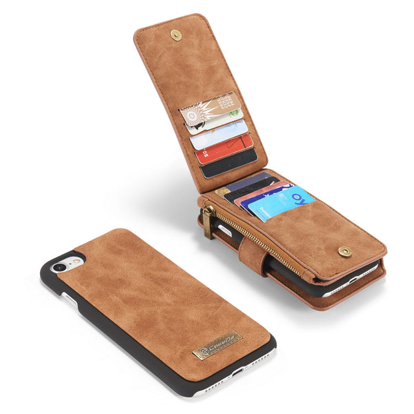 "For iPhone 7 4.7 "" Pocket Case, Dteck(TM) 2 in 1 Design Detachable Magnetic Flip Back Wallet Cover"