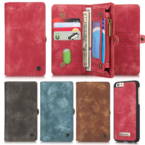 iPhone 6 6S Case, Dteck Leather Detachable Wallet Case for Apple iPhone 6 6S