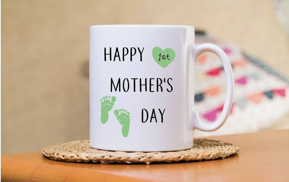 Happy 1st Mothers Day - green