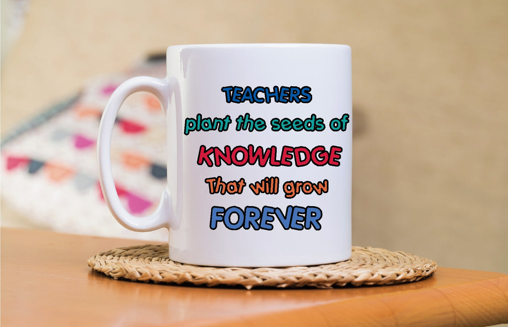 Teachers plant the seed of knowledge