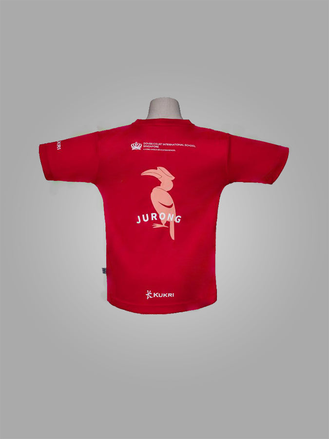 DCIS JURONG HOUSE T-SHIRT <br> ( RED )