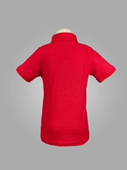 DCSG RED POLO SHIRT